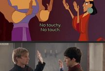 Disney and Merlin
