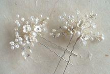 Bridal Hair Combs, Pins & Vines / by Etsy Bridal