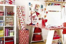 Sewing Studio Makeover / Clever ideas to add to the sewing studio