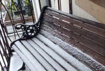 Travels / Snow in Wiesbaden Germany