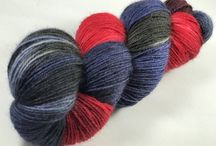 Fond of Fingering / We love how versatile fingering yarns are. Great for knitting socks or shawls. Our super-wash British Bluefaced Leicester Wool is like no other.
