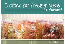 Freezer And Crock Pot Meals