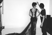 Evening Dress Haute Couture | Robes de soirée / Exclusive bespoke evening dresses by Rachel Perez Haute Couture. Robes de soirée exclusive par le designer Rachel Perez. Montreal, Quebec.  www.rachelperez.ca