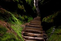 Inspiration: A Walk in Their Shoes / Pathways, Bridges, etc.