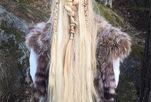 Wild child hair