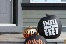 HALLOWEEN// pumpkins / by Jenn Schrimper