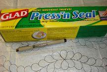 Press N Seal quilting