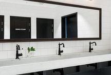 Restaurant Einrichtungskonzept: industrial-white