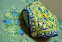 Biscornu / Needlepoint embroidery