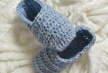 pantoufle  tricotée