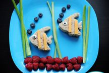Kids Lunch & Fun Snack Ideas / by Kelly Chamberlain