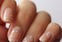 Wedding Nails / Sparkly, nude, or natural what will be your look for your wedding day.