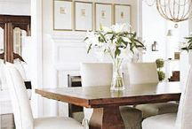 Interiors:  Dining / by Turnstyle Vogue