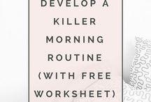 Morgen-routinen