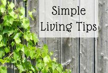 Simple Living Tips