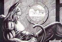 ZÉ GATÃO / Personagem de quadrinhos ambientado em um universo antropomorfo, criado em 1992, com cinco álbuns lançados.