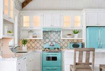 Simple cottage  kitchen