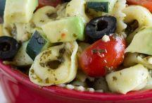 Pasta Avocado Salad / Salad