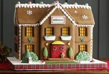 Τούρτα σπιτάκι gingerbread
