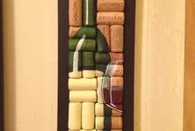 Wine Cork & Bottle Crafts / by Valarie Florer
