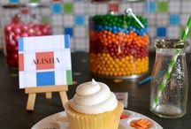 fiestas de cupcakes