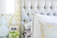 Inspirációk Dórinak / Cél: fiatal lány franciás-glamouros hálószobára vágyik, sok fehérrel, bézzsel és pasztel színekkel