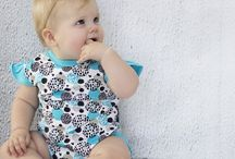 Babywear Onesies / Baby onesies • bodysuits | Australian owned organic baby brand creating unique & stylish outfits for newborns, babies & toddlers. Affordable, high quality clothes | See our entire range at ♥ asterandoak.com.au