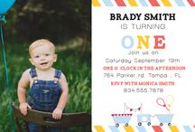 First Birthday Invitations / by Basic Invite