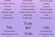 workouts I will use