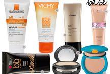 O que usar no verão / Dicas de produtos e maquiagens para usar nos dias quentes do verão.