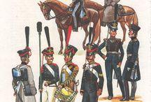 Ruská pěchota- Napoleonské války