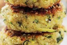 Quinoa fritters