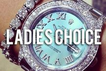 Ladies Choice / A curated collection of fine women's watches and fashion.