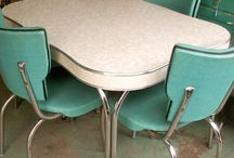 Formica table ideas with oak
