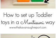 Tot School/Tot Trays / A collection of fun learning activities and ideas for tiny toddlers.