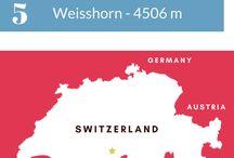 Switzerland & Alps Infographics