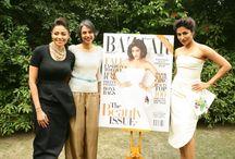 Chitrangada Singh unveiling Harper's Bazaar Cover with Kalyani Chawla / Chitrangada Singh In Dior