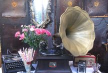 Vintage Props / Props for weddings and events available from Wilde & Romantic xx