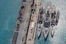 Amphimbius landing Craft USS Essex