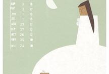 Calendars / by Liesel Kutu