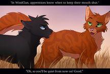 teksten warrior cats