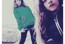 giulia and me<3