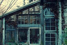 Charm of abandoned places