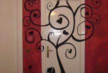 decorazione parete
