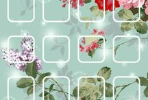 iPhone homescreen & Wallpaper