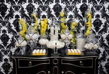 Candy Stations by A Silverware Affair / Candy Stations by A Silverware Affair - http://www.ASilverwareAffair.net