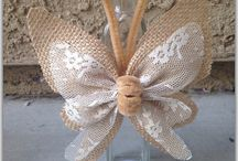 Mariposa arpillera