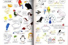 Illustrations kawai