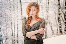 zimowe portrety