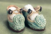Doll Shoes We Wish Were People Shoes. / An array of some of the most charming and spectacular antique doll shoes. If only they came in sizes we could wear...